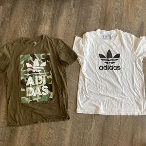 Two men adidas shirts bundle